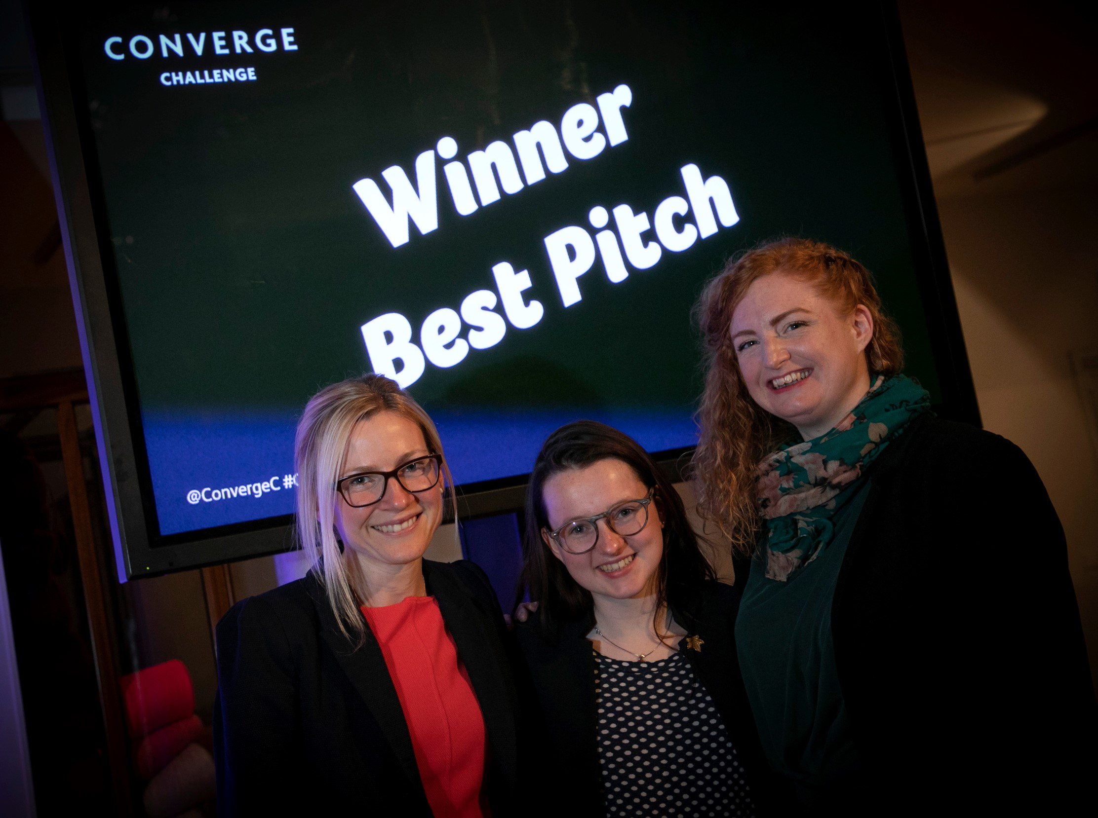 It's a Hat Trick! Women Entrepreneurs Win Big at Converge Pitching Events